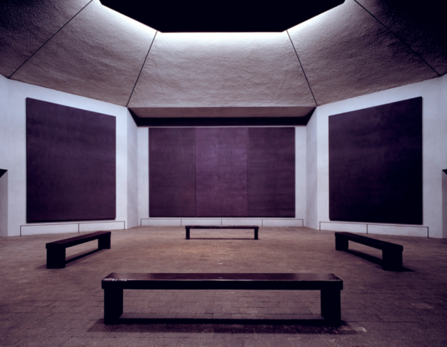 De Rothko-kapel. © WikiArt
