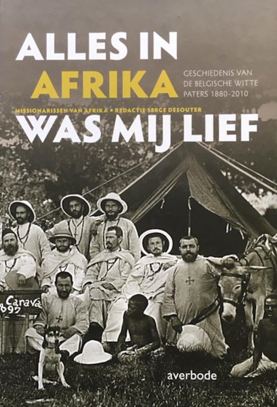 Cover 'Alles in Afrika was mij lief'. © Uitgeverij Averbode