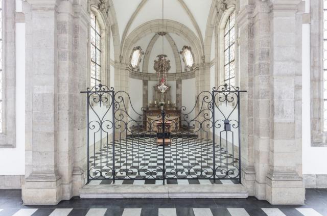 Uit de fotoreeks 'Markante plekken': het Grootseminarie in Brugge. © Alexander Dumarey