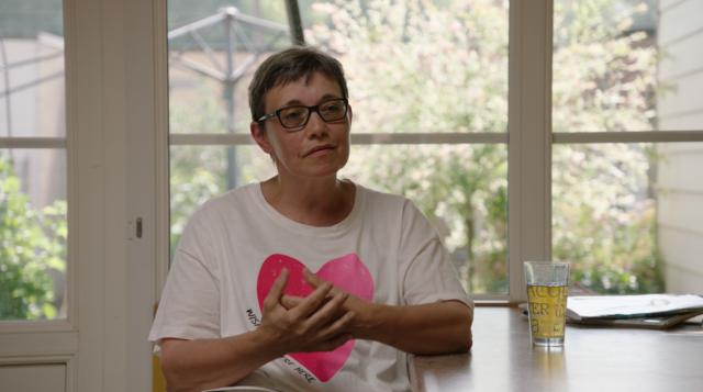 Greta, één van de getuigen in de aflevering van deze week. © Canvas