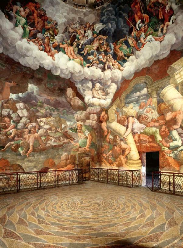 Palazzo del Te in Mantua (Italië). © Uitgeverij Davidsfonds