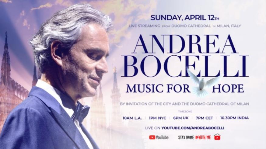 Het concert is zondagavond vanaf 19u te volgen op YouTube. © rr