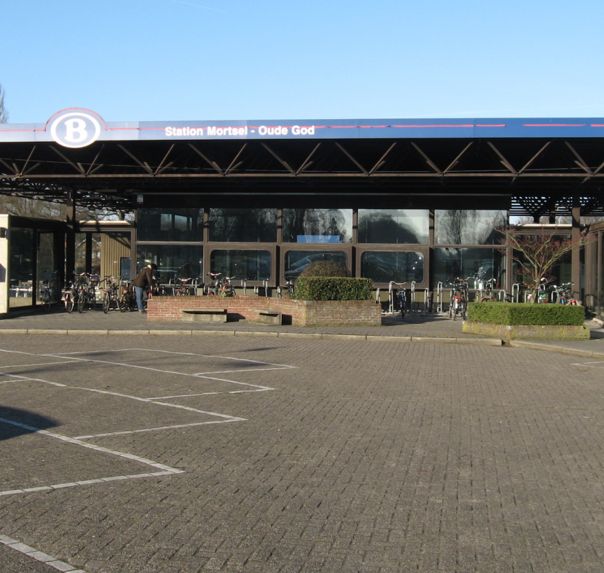 Station Mortsel-Oude God. © Wikipedia