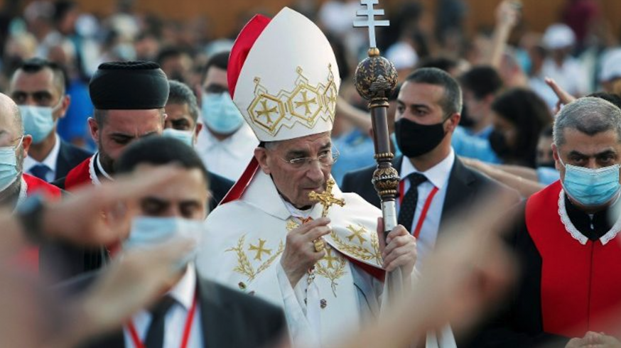 De maronitische patriarch, kardinaal Béchara Boutros Raï. © Vatican.va