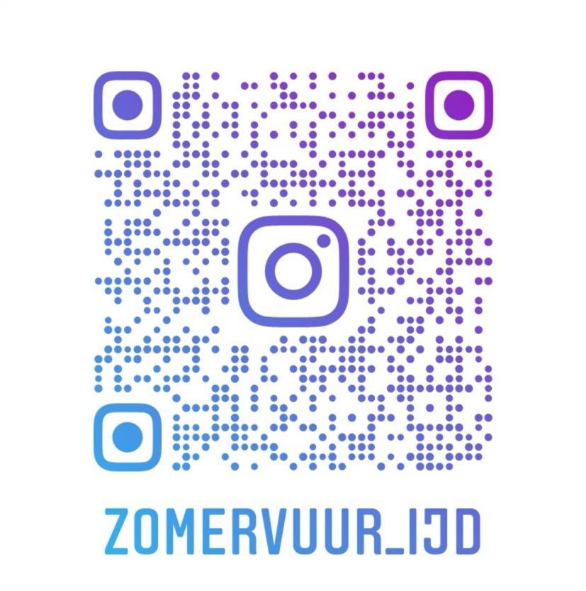 QR-code Instagram Zomervuur