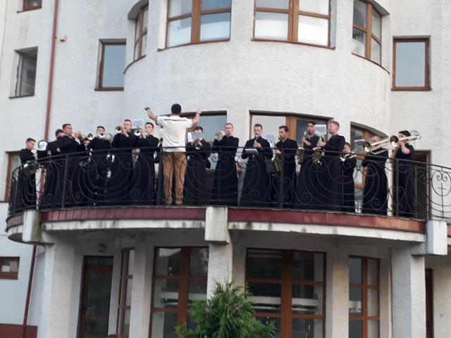 Seminaristen-brassband © CCV Gent, foto: Dieter Van Belle
