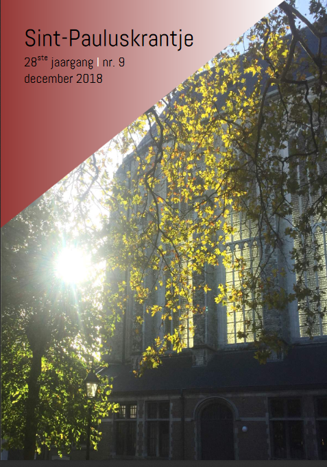Sint-Pauluskrantje december 2018 © Sint-Paulusparochie