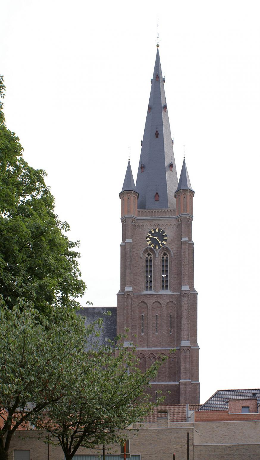Sint-Vincentiuskerk Eeklo © Wikepedia