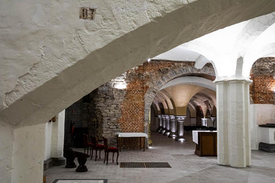 De crypte wordt onderdeel van een belevenistour over de Sint-Baafskathedraal en het Lam Gods. © Sint-Baafskathedraal Gent – www.artinflanders.be – Bas Bogaerts