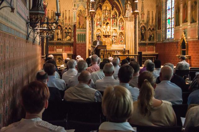 Joris Polfliet, vicaris vorming en opleiding © Bisdom Gent, foto: Karel Van de Voorde