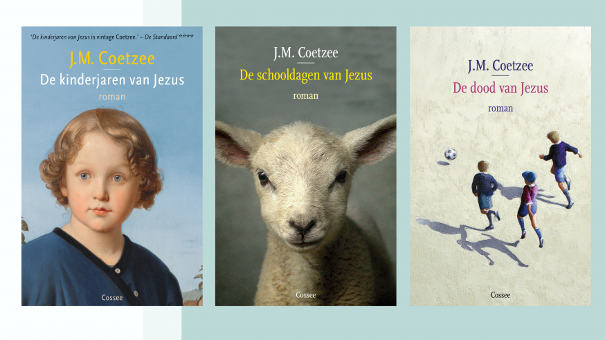 De Jezus-trilogie van J.M. Coetzee. © Uitgeverij Cossee