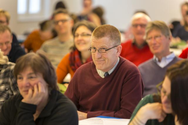 Martin Todts tijdens de opleiding in het HDGI © CCV in het bisdom Gent, foto: Daina De Saedeleer