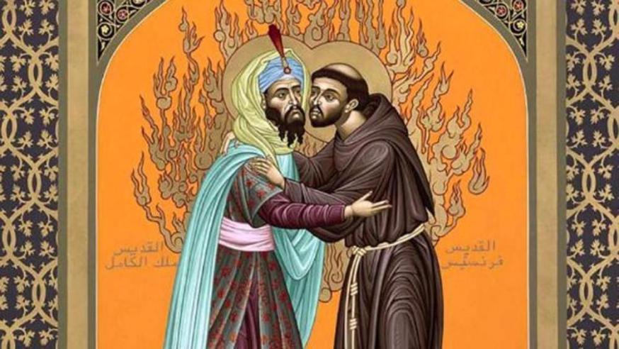 St.-Franciscus en de sultan © (c) Robert Lentz