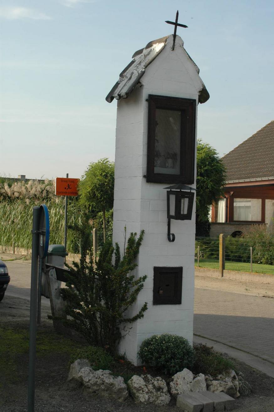 Staakkapel Sint-Elooistraat Zeveneken © PM