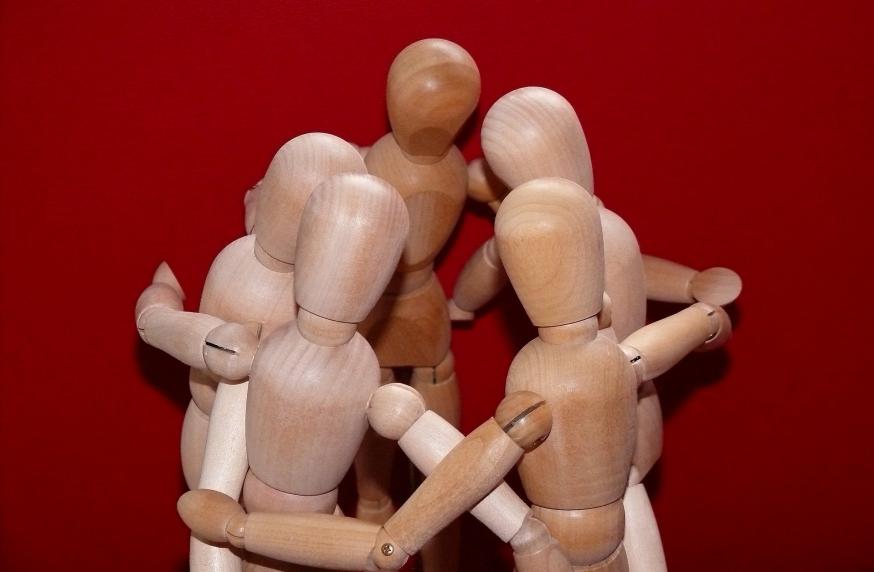 Steunfiguren © Christine Schmidt, via Pixabay