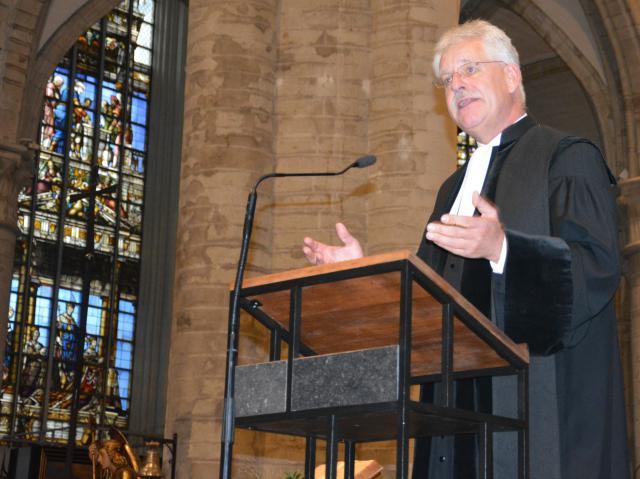 Voorzitter Steven H. Fuite van de Verenigde Protestantse Kerk van België (VPKB) © Hellen Mardaga