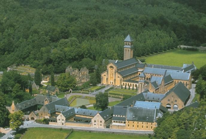 De abdij van Orval 2017