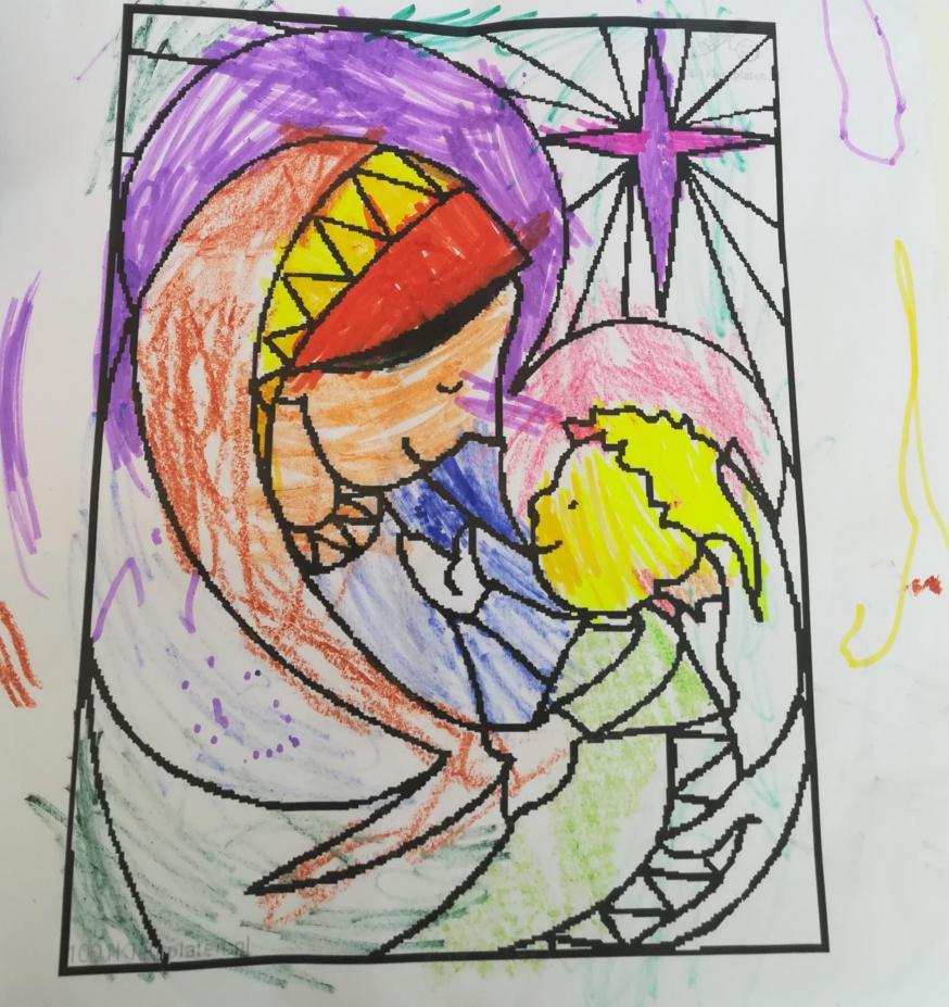 Kleurplaat van Suzanne