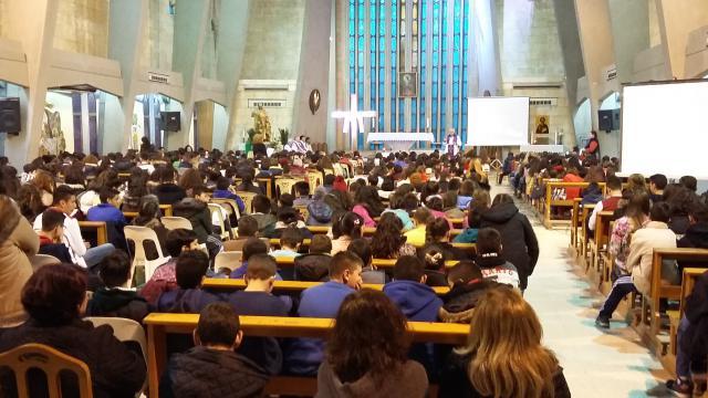De jaarlijkse gebedsviering in het kader van de Internationale Gebedsweek voor de Eenheid van de Christenen. © mgr. Johan Bonny