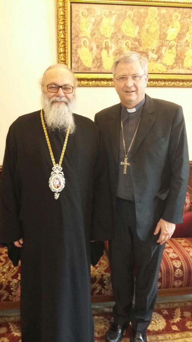 Ontmoeting met diverse bisschoppen en kerkelijke vertegenwoordigers in Syrië © mgr. Johan Bonny