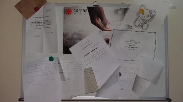 Werking van Caritas in Syrië  © mgr. Johan Bonny
