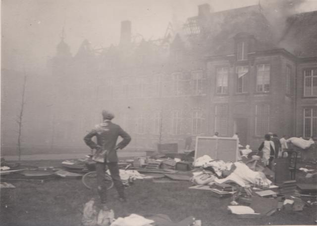 De film moest de herstellingen na een zware brand helpen betalen. © Cinematek