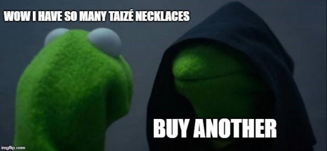 Zot van Taizé kettingen