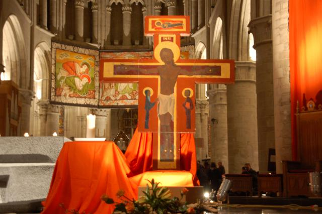 Taizé in Brussel © Philippe Keulemans