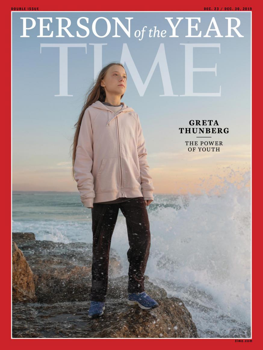Greta Thurnberg © Time