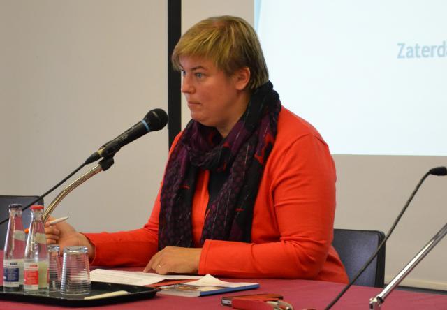 Tine De Leeuw, algemeen coördinator van de Sint-Michielsbeweging © Jeroen Moens