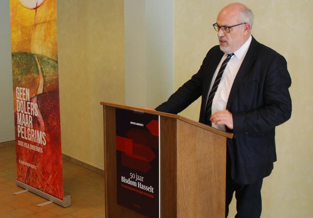 Toon Osaer, directeur van de uitgeverij Halewijn nv © Filip Ceulemans