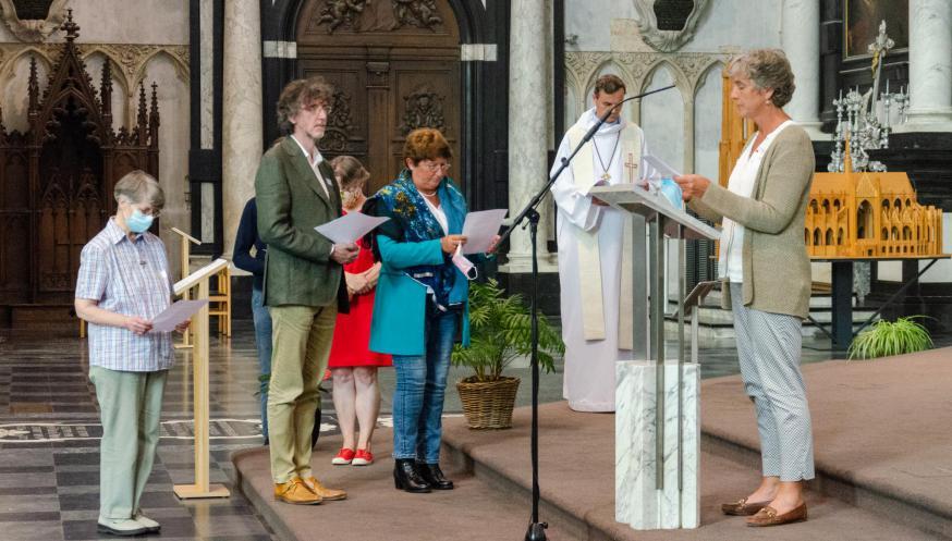 Start pastorale jaar aartsbisdom Mechelen-Brussel 10 september 2021 © Hellen Mardaga