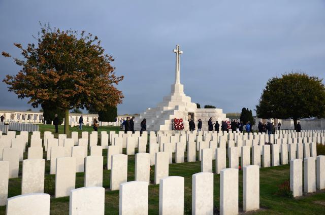 De Britse miliaire begraafplaats Tyne Cot Cemetry © Hellen Mardaga
