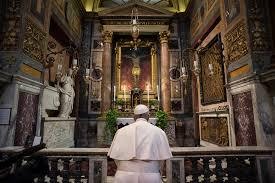 Paus Franciscus- gebed  © Images