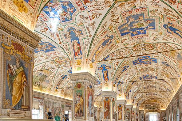 De Apostolische Bibliotheek © Vatican Media