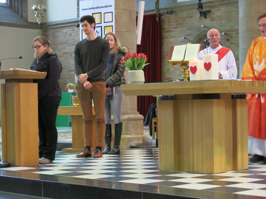 Eucharistieviering Valentijn Anders in Diksmuide
