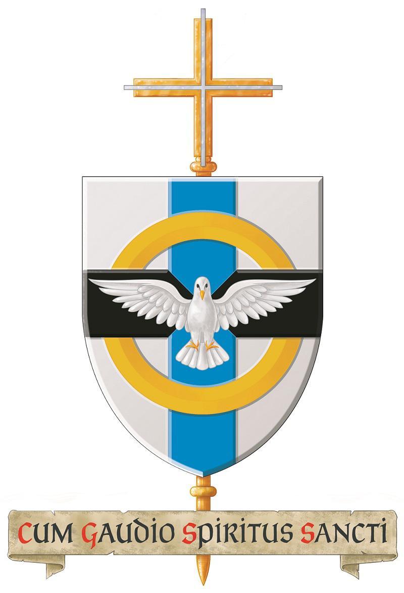 wapenschild bisschop Van Hecke © Bisdom Gent