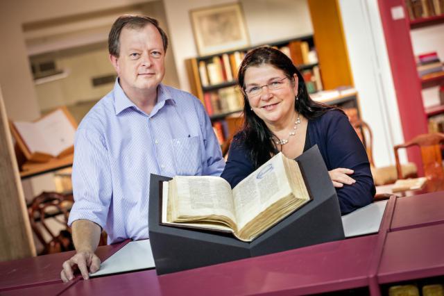 De onderzoekers Faesen en Watteeuw van de KU Leuven © Rob Stevens/KU Leuven
