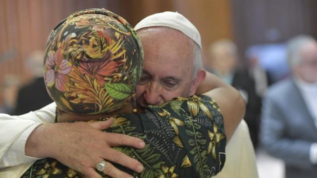 Op de 3de dag van de Amazonesynode werden de grote uitdagingen van de Amazonevolkeren geschetst. © Vatican News
