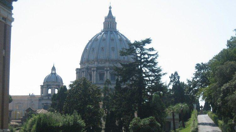 De Sint-Pietersbasiliek © Vatican Media