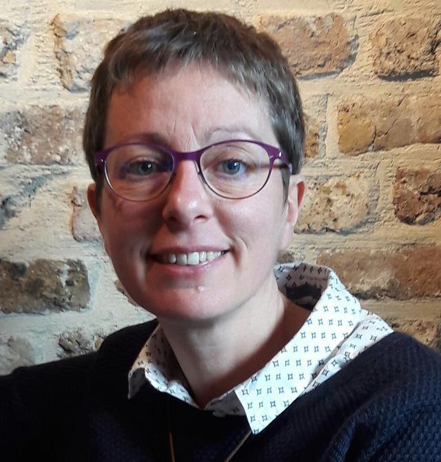Nathalie Verstraete, bisschoppelijk gedelegeerde voor jeugd- en roepingenpastoraal. © Archief