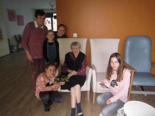 vormelingen in WZC Sint-Bernardus Bassevelde