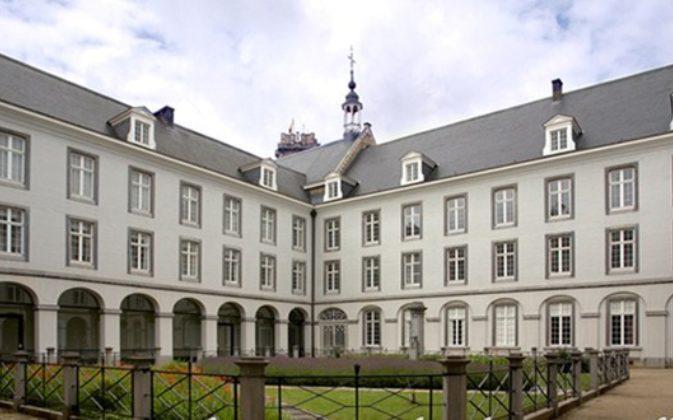 Atrium van het Diocesaan Pastoraal Centrum in Mechelen © Diocesaan Pastoraal Centrum in Mechelen