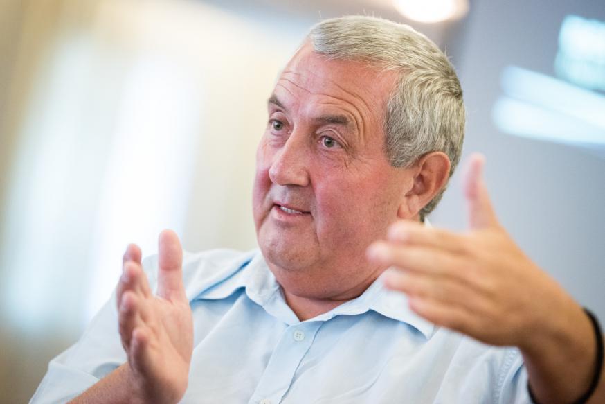 Secretaris-generaal ad interim van de Wereldraad van Kerken Ioan Sauca © Albin Hillert/WCC