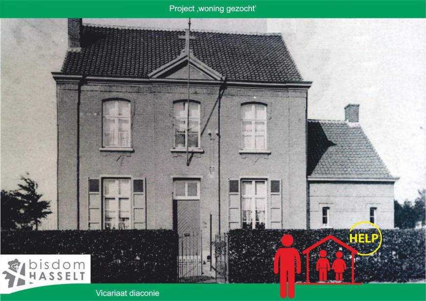 Project Woning gezocht © Vicariaat diaconie bisdom Hasselt
