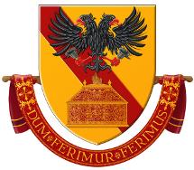 Het wapen van de Maatschappij der Dragers © Kabinet Diependaele