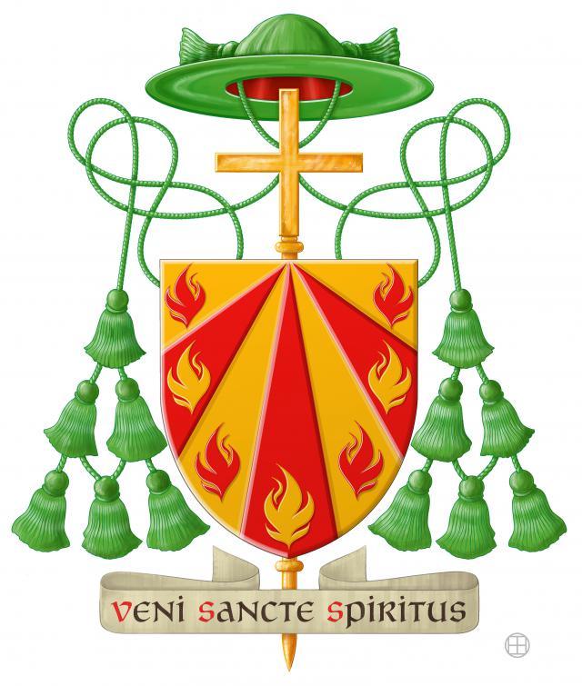 Wapenschild Mgr. Koen Vanhoutte.