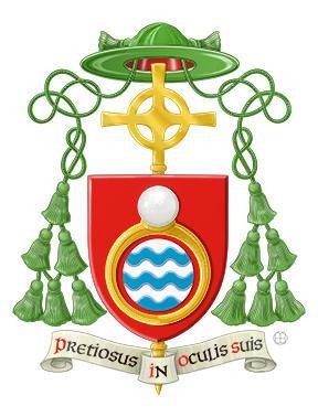 Wapenschild van Mgr. Lode Aerts, bisschop van Brugge