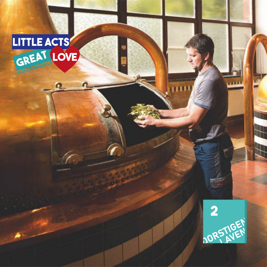 Little acts, great Love - Broeders Westmalle