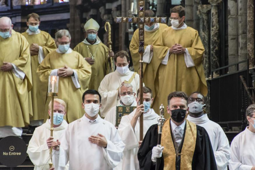 Priesterwijding Jef Van der Gucht - 4 juli 2021 © Martine Van Cauwenberghe